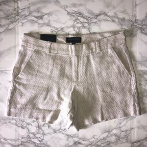 "Banana Republic 4.5"" Linen Shorts, Patterned"